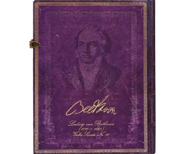 Блокнот Бетховен, 250 лет Paperblanks