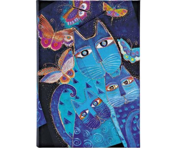 """Блокнот Paperblanks """"Синие кошки и бабочки"""""""