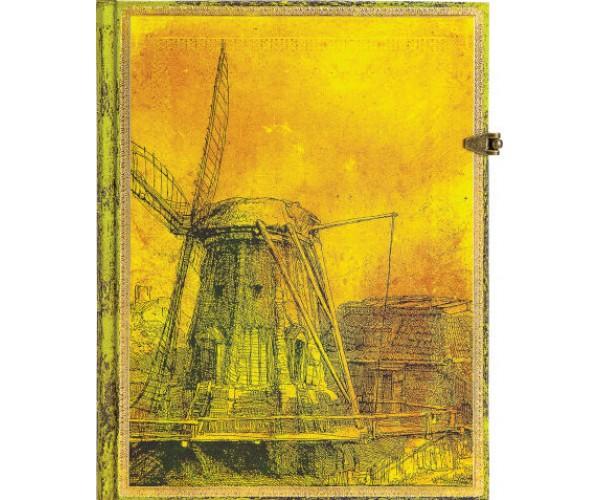 Блокнот Рембрандт, Ветряная мельница Paperblanks
