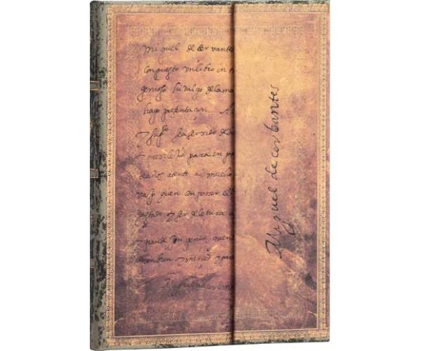 """Блокнот Сервантес """"Письмо Королю""""  Paperblanks"""