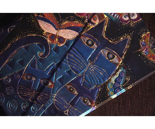 """Ежедневник 2020 """"Синие кошки и бабочки"""""""