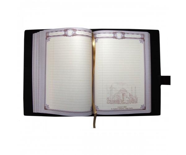 Кожаный ежедневник а5 арт 2950